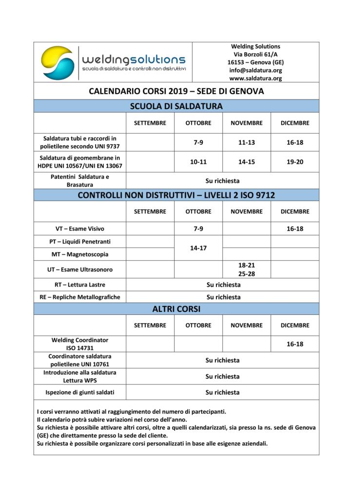 Calendario Corsi.Calendario Corsi Welding Solutions